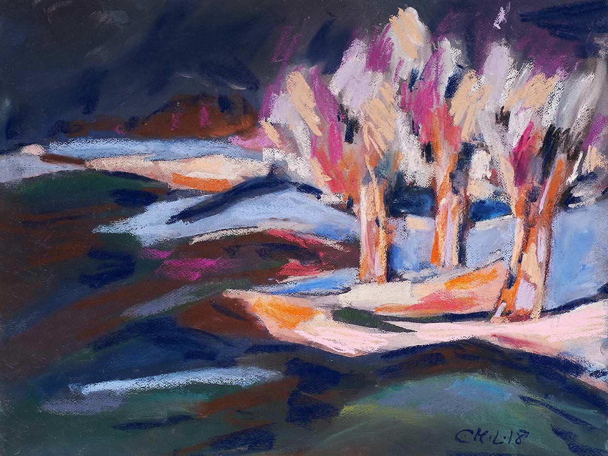 Bäume-in-Farben-I--65x50cm