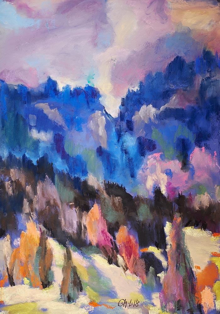 Bäume-in-Farben-III--70x100cm-