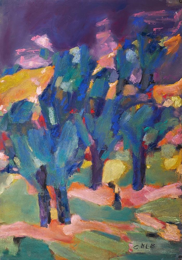 Bäume-in-Farben-II--60x90cm